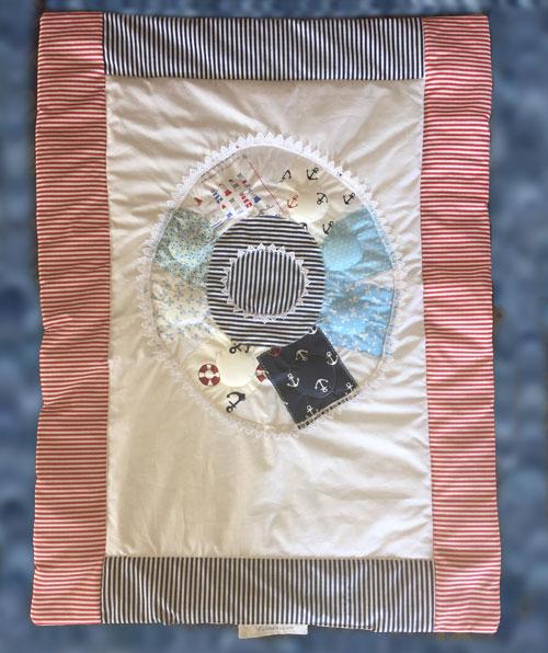 Nautical quilt design